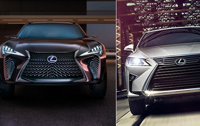 Production Lexus UX, Extended 3-Row RX Rumored for Tokyo Unveiling