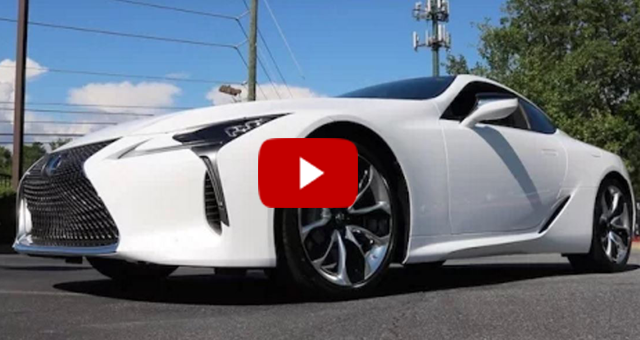 Future Shock: Lexus LC 500 Technical Review