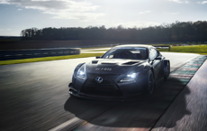 Lexus Reveals Sexy, Sinister RC F GT3
