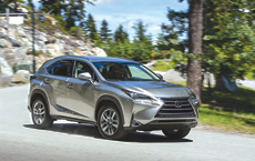 Lexus NX Deemed the Perfect Road-Trip Car
