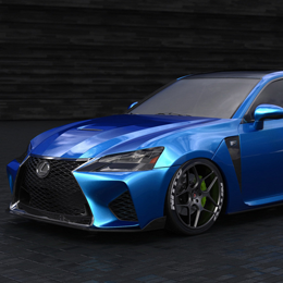 Behold Lexus's 2016 GS F SEMA Car, Fender Vents and All