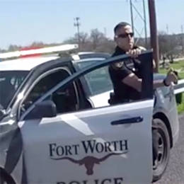 Texas Cop Allegedly Pepper Sprays Bikers for No Reason