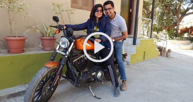 Coolest Wife in the World Buys Husband a Harley-Davidson